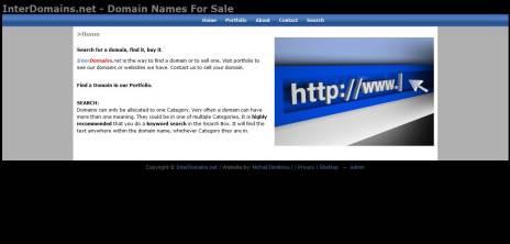 interdomains website